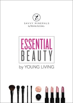 """""""The Beauty Essentials Notebook"""" für die Beauty School 2018, Auszug Inhalt, A5, Young Living Europe"""