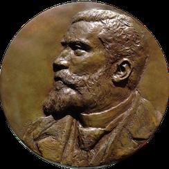 Sculpture-buste-statue-bronze-sulpteur-Langloys-Jaures-Bas-relief