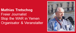 23.03.2019 - Berlin: Solidaritätskundgebung zum 4. Jahrestag saudischer Krieg gegen den Jemen - Redner