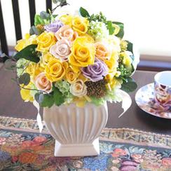 プリザーブドフラワーの大きいサイズのお祝い花