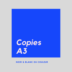 prix photocopie A3 paris