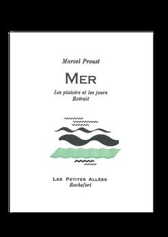 Les petites allées, La mer, Marcel Proust