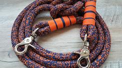 12 mm dark blue orange mix