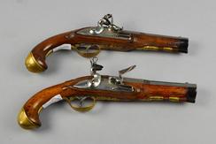 Paar Steinschlosspistolen