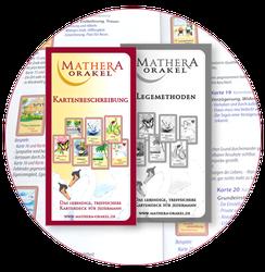 Orakelkarten Begleithefte zum kartenlegen mit Mathera