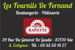 partenaire de la JA Isle Handball Les Fournils de Fernand