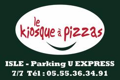 le kiosque à pizzas partenaire JA Isle Handball