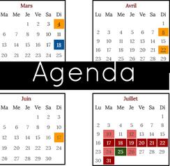 Agenda, Musée des Métiers