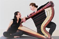 Yoga mit Harfe