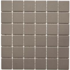 Mosaikfliesen grau 5x5 cm Rutschhemmend