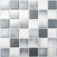 Antislip Rutschhemmende Mosaikfliesen mix grau