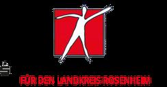 Logo Sparkassenstiftung Rosenheim, Rosenheimer Aktion für das Leben