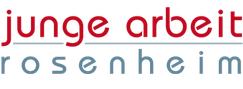 Logo junge arbeit Rosenheim, Rosenheimer Aktion für das Leben