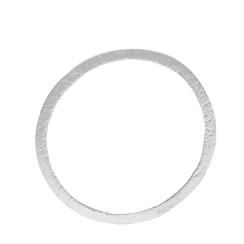 """XL- """"Circle"""" Kettenanhänger- unsere geometrisch, eleganten puristischen offenen Ring Kreiskette  Der Kreisring Anhänger hat eine matt-gebürstete Oberfläche."""