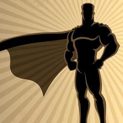 """Superheld"""