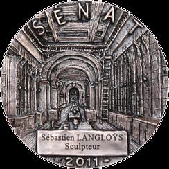 Buste-Médaille-Sénat-Langloÿs