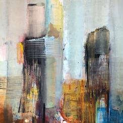 Sinasi Bozatli, Acryl auf Leinwand, Ausstellung, Wien, galerie artziwna