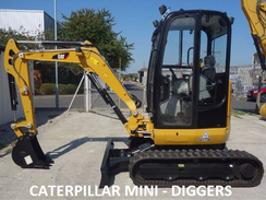 Mini digger hire in Kent