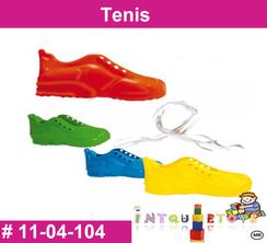 Tenis MATERIAL DIDACTICO PLASTICO INTQUIETOYS PRIMERDI
