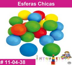 Esferas Chicas MATERIAL DIDACTICO PLASTICO INTQUIETOYS PRIMERDI