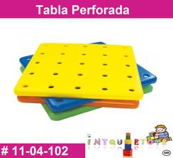 Tabla Perforada MATERIAL DIDACTICO PLASTICO INTQUIETOYS PRIMERDI