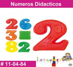 Numeros Didacticos MATERIAL DIDACTICO PLASTICO INTQUIETOYS PRIMERDI