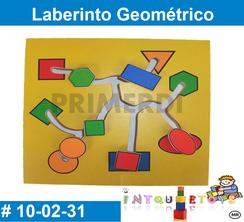 Laberinto Geométrico MATERIAL DIDACTICO MADERA INTQUIETOYS PRIMERDI