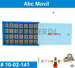 Abc Movil MATERIAL DIDACTICO MADERA INTQUIETOYS PRIMERDI