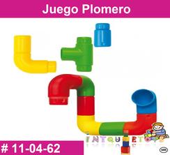 Juego Plomero MATERIAL DIDACTICO PLASTICO INTQUIETOYS PRIMERDI
