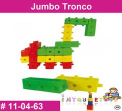 Jumbo Tronco MATERIAL DIDACTICO PLASTICO INTQUIETOYS PRIMERDI