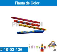 Flauta de color MATERIAL DIDACTICO MADERA INTQUIETOYS PRIMERDI