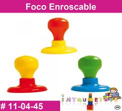 Foco Enroscable MATERIAL DIDACTICO PLASTICO INTQUIETOYS PRIMERDI