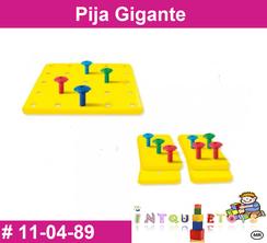 Pija Gigante MATERIAL DIDACTICO PLASTICO INTQUIETOYS PRIMERDI