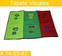 Tapete Vocales Estimulacion Temprana  PRIMERDI INTQUIETOYS