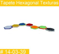 Tapete Hexagonal Texturas Estimulacion Temprana  PRIMERDI INTQUIETOYS
