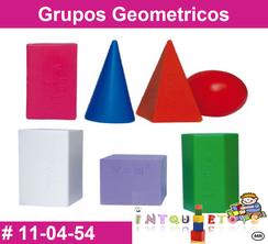 Grupos Geometricos MATERIAL DIDACTICO PLASTICO INTQUIETOYS PRIMERDI