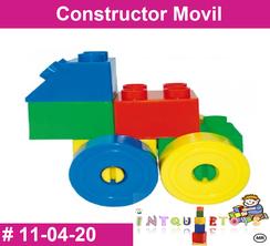 Constructor movil de plastio juguete didactico