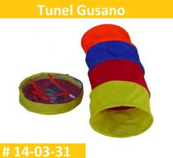 Tunel Gusano Estimulacion Temprana  PRIMERDI INTQUIETOYS