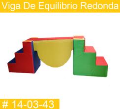 Viga de Equilibrio Redonda Estimulacion Temprana  PRIMERDI INTQUIETOYS