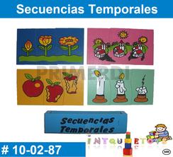 Secuencias Temporales MATERIAL DIDACTICO MADERA INTQUIETOYS PRIMERDI