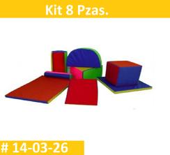 Kit 8 Pzas Estimulacion Temprana  PRIMERDI INTQUIETOYS