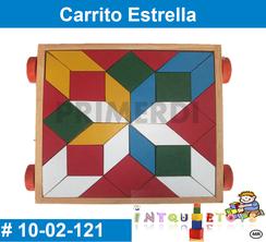 Carrito Estrella MATERIAL DIDACTICO MADERA INTQUIETOYS PRIMERDI