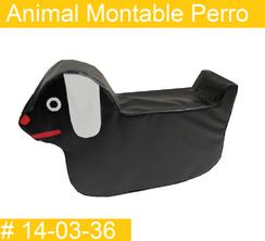 Animal Montable Perro Estimulacion Temprana  PRIMERDI INTQUIETOYS