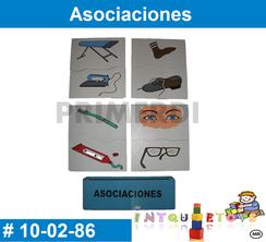Asociaciones MATERIAL DIDACTICO MADERA INTQUIETOYS PRIMERDI