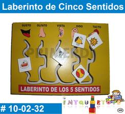 Laberinto de Cinco Sentidos Material Didactico de Madera PRIMERDI INTQUIETOYS
