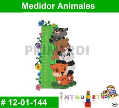 Medidor Animales MATERIAL DIDACTICO FOAMY  INTQUIETOYS PRIMERDI