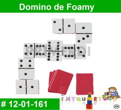 Domino de Foamy MATERIAL DIDACTICO FOAMY  INTQUIETOYS PRIMERDI