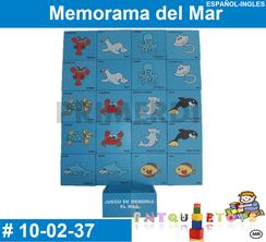 Memorama del Mar MATERIAL DIDACTICO MADERA INTQUIETOYS PRIMERDI