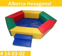 Alberca Hexagonal Vinil Estimulacion Temprana Pirmerdi Intquietoys