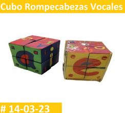 Cubo Rompe Cabezas Vocales Estimulacion Temprana  PRIMERDI INTQUIETOYS